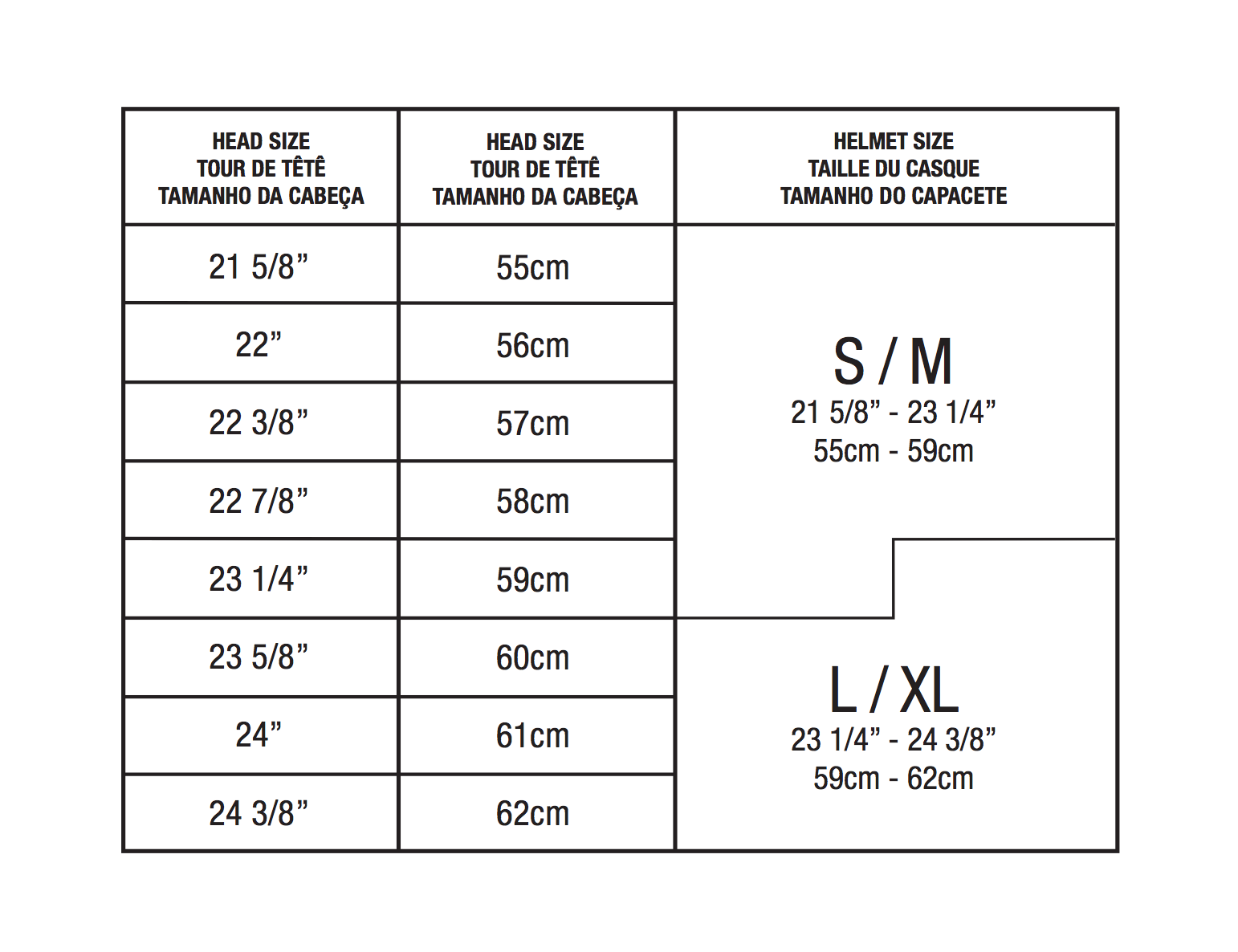 Bike helmet sizing helmet size chart follow these easy steps