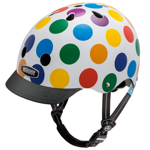 Dots (Little Nutty) - Nutcase Helmets - 1