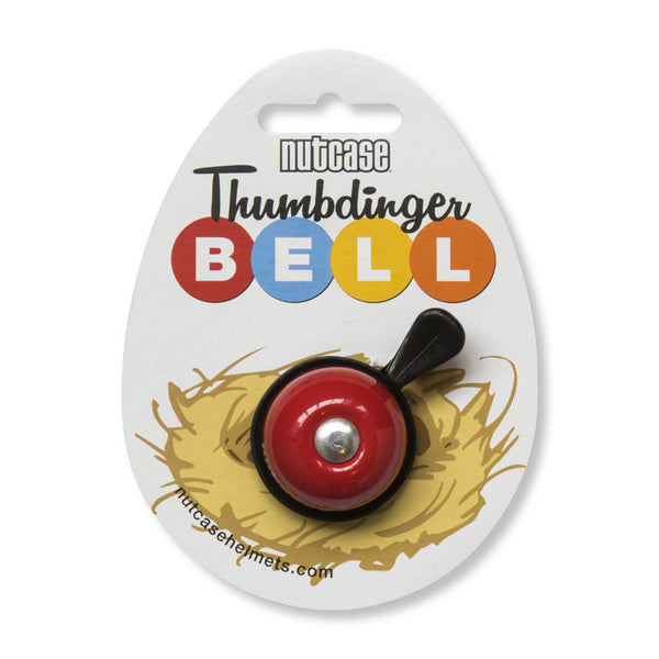 Racy Red Thumbdinger Bell