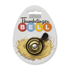 Brass Bling Thumbdinger Bell