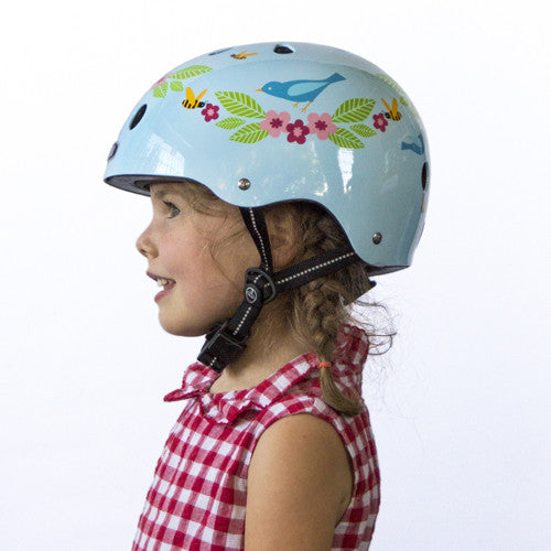 Bluebirds & Bees (Little Nutty) - Nutcase Helmets - 4