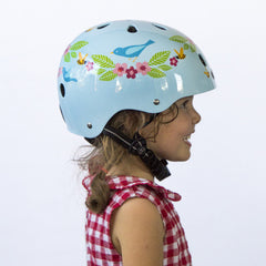 Bluebirds & Bees (Little Nutty) - Nutcase Helmets - 3