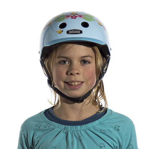 Bluebirds & Bees (Little Nutty) - Nutcase Helmets - 15