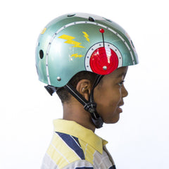 Tin Robot (Little Nutty) - Nutcase Helmets - 3