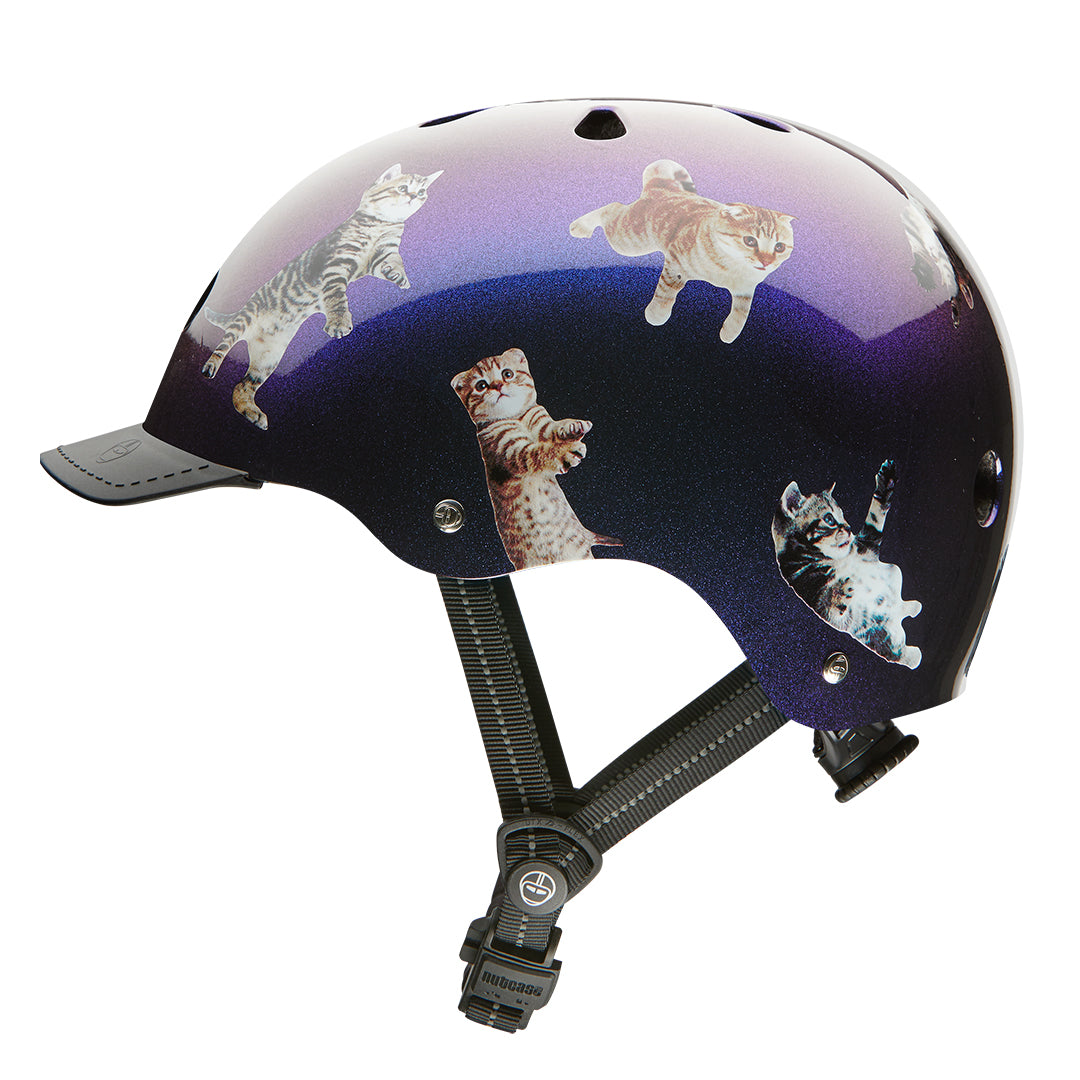 SPACE CATS  WOMEN'S  STREET BIKE HELMETS