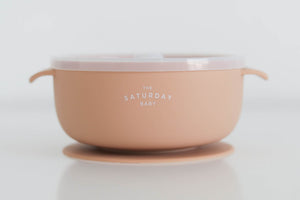 Peach Suction Bowl