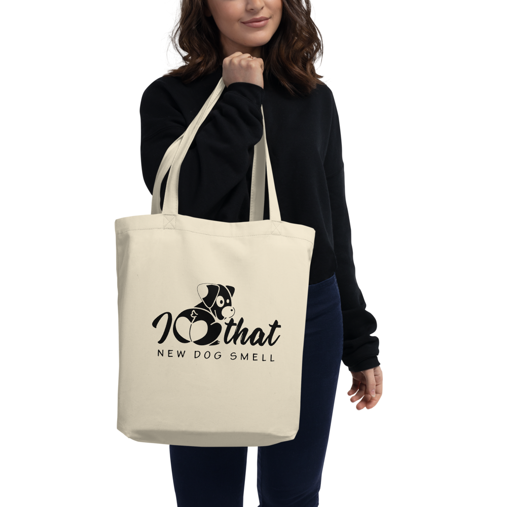 That new dog smell Eco Tote Bag - Montana Select Premium Pet Products.