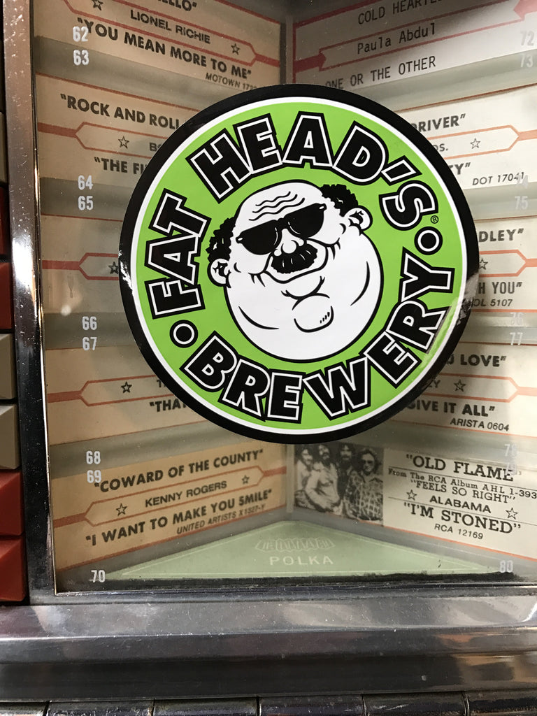 Fat Head's Vinyl Stickers