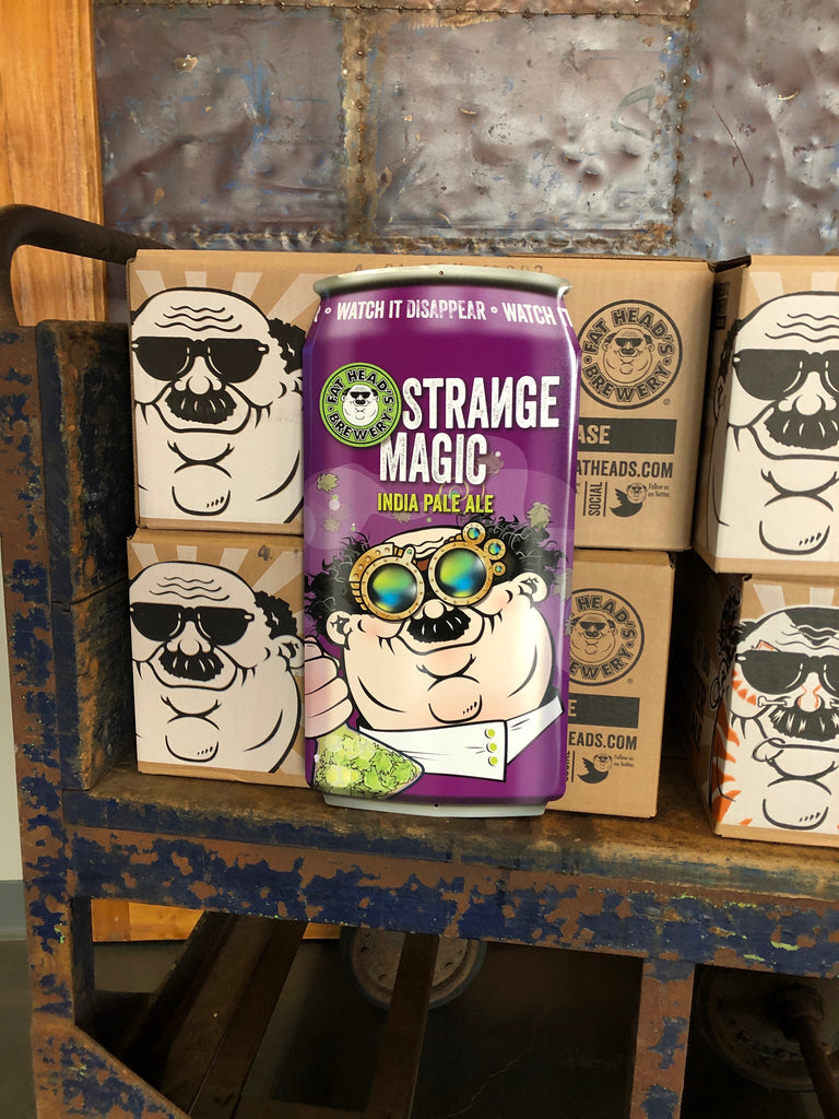 Strange Magic Can Sign