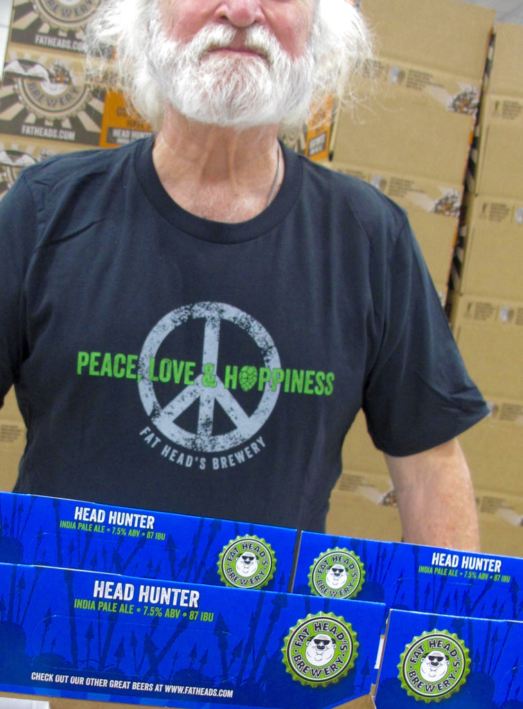 Peace, Love, & Hoppiness T-Shirt