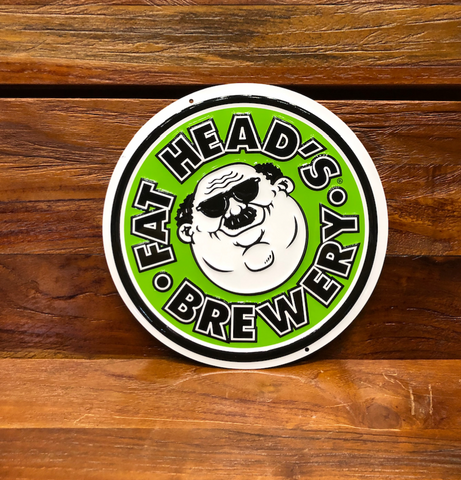 Brewery Logo Tin Sign