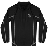 Sweat Running Enfant 1/4 Zip ARIMA Defense Enfant & Bébé>Vêtements de sport Black / 12/14 ans ARIMA DEFENSE TN