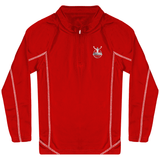 Sweat Running Enfant 1/4 Zip ARIMA Defense Enfant & Bébé>Vêtements de sport ROUGE / 12/14 ans ARIMA DEFENSE TN