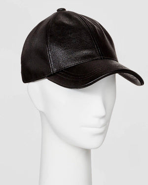 Faux Leather Dad Cap