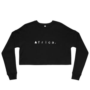 Africa Cropped Sweatshirt