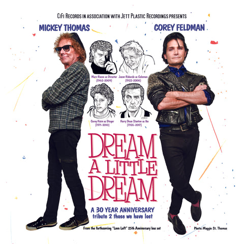 Corey Feldman - 'Dream A Little Dream' b/w 'Something In Your Eyes' 7""