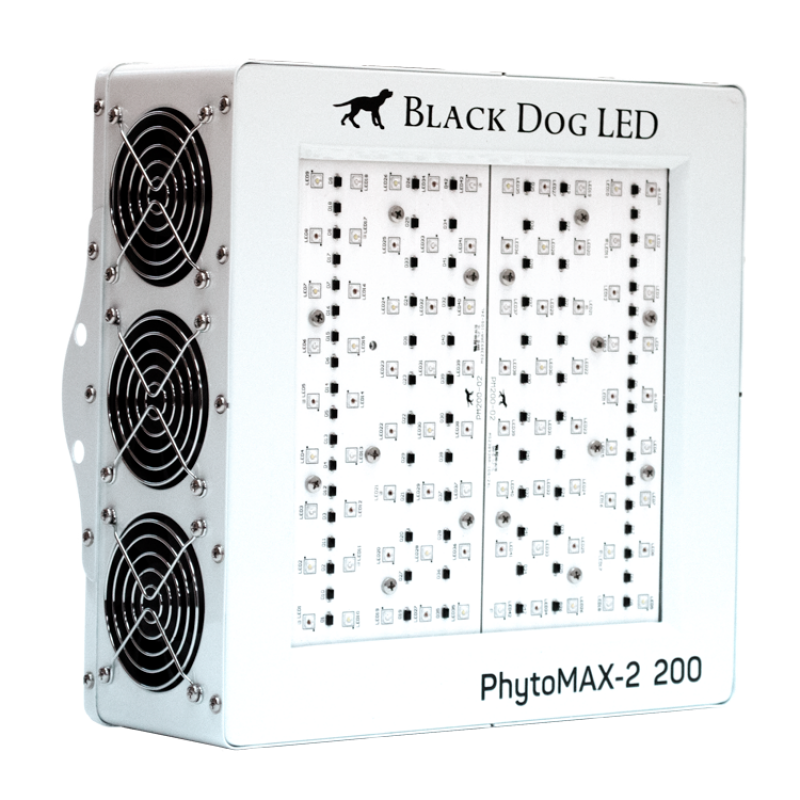 Buy Black Dog LED PhytoMAX-2 200 LED Grow Light - In Stock - Low Price Guarantee - Blooming Flora