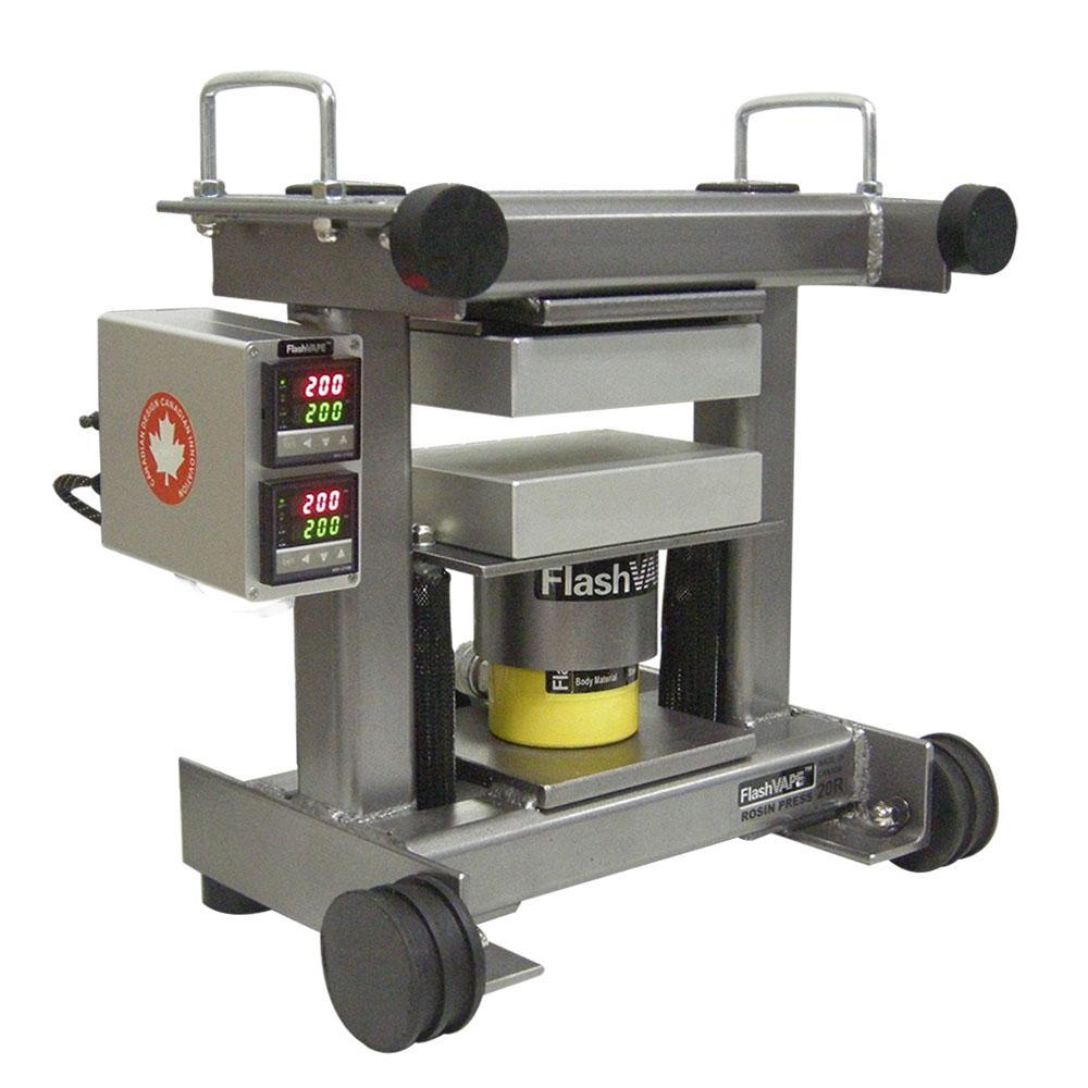 Buy FVRosintech Rollie 20 Ton Driptech Portable Rosin Press - In Stock - Low Price Guarantee - Blooming Flora