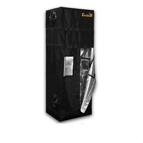 "Buy Gorilla Grow Tent 2′ x 2.5′ x 5' 11"" (6' 11"" w/ Extension Kit) Indoor Grow Tent - In Stock - Low Price Guarantee - Blooming Flora"
