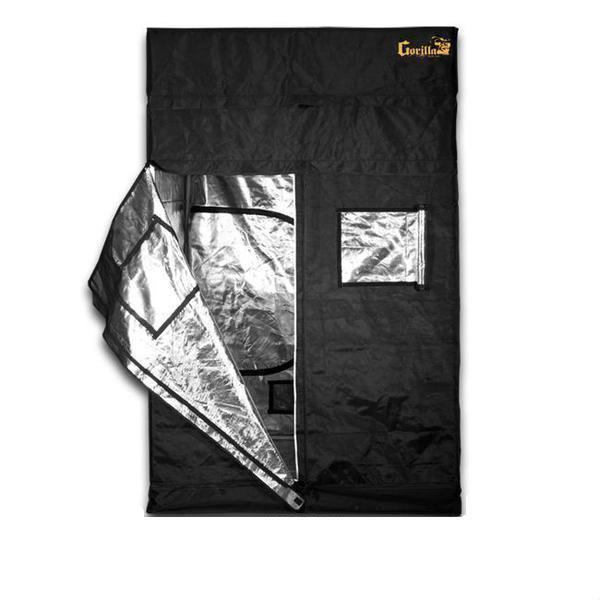 "Buy Gorilla Grow Tent 5′ x 5′ x 6' 11"" (7' 11"" w/ Extension Kit) Indoor Grow Tent - In Stock - Low Price Guarantee - Blooming Flora"