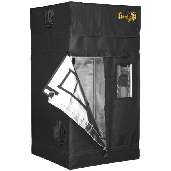 "Buy Gorilla Grow Tent Shorty 3' x 3' x 4' 11"" (5' 8"" w/ Extension Kit) Indoor Grow Tent - In Stock - Low Price Guarantee - Blooming Flora"