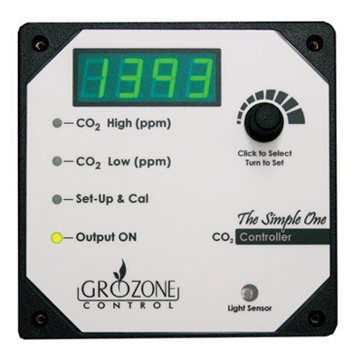 Buy Grozone HT CO2 Controller - In Stock - Low Price Guarantee - Blooming Flora