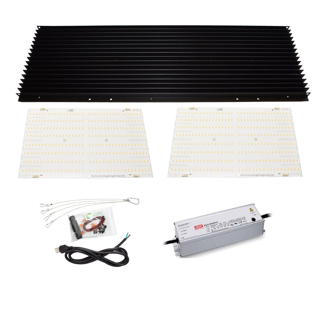 Buy Horticulture Lighting Group HLG 260W V2 Quantum Board LED Grow Light DIY Kit - [DISCONTINUED] - In Stock - Low Price Guarantee - Blooming Flora