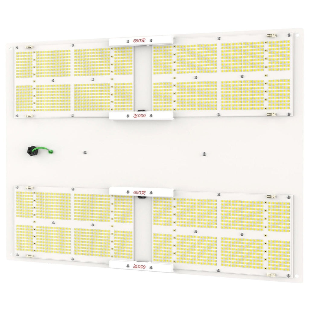Horticulture Lighting Group (HLG) 650R V2 Full-Spectrum 630W Quantum Board LED Grow Light (Full Cycle)