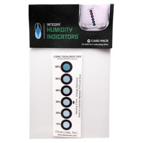 Buy Integra Boost Humidity Indicator Cards (10) - In Stock - Low Price Guarantee - Blooming Flora