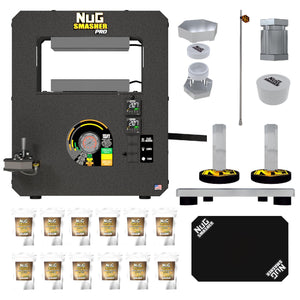 Buy NugSmasher Pro 20 Ton Rosin Heat Press Starter Bundle Plus - In Stock - Low Price Guarantee - Blooming Flora