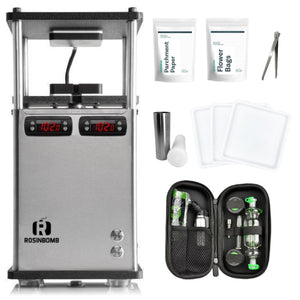Buy RosinBomb M-60 Electric Rosin Heat Press MAX Bundle - In Stock - Low Price Guarantee - Blooming Flora