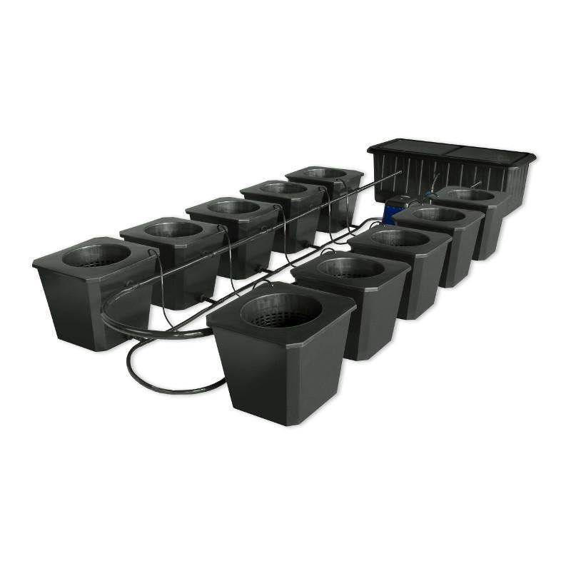 Buy SuperCloset 10-Site Flow Buckets Hydroponic Bubble Systems - In Stock - Low Price Guarantee - Blooming Flora