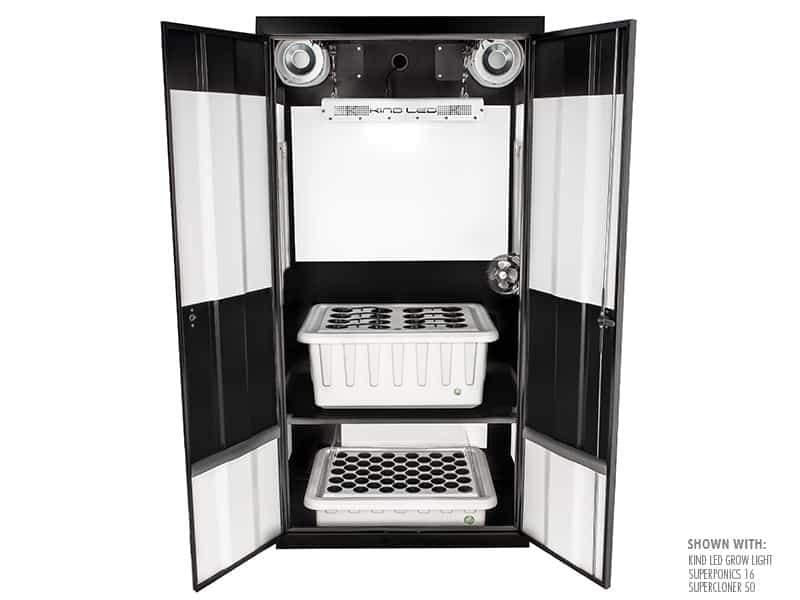 "Buy SuperCloset Deluxe 3.0 36"" x 24"" x 72""  LED Grow Cabinet - In Stock - Low Price Guarantee - Blooming Flora"