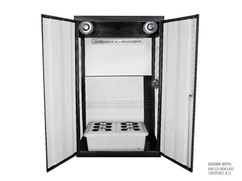 "Buy SuperCloset SuperNova 46"" x 24"" x 78"" LED Grow Cabinet - In Stock - Low Price Guarantee - Blooming Flora"