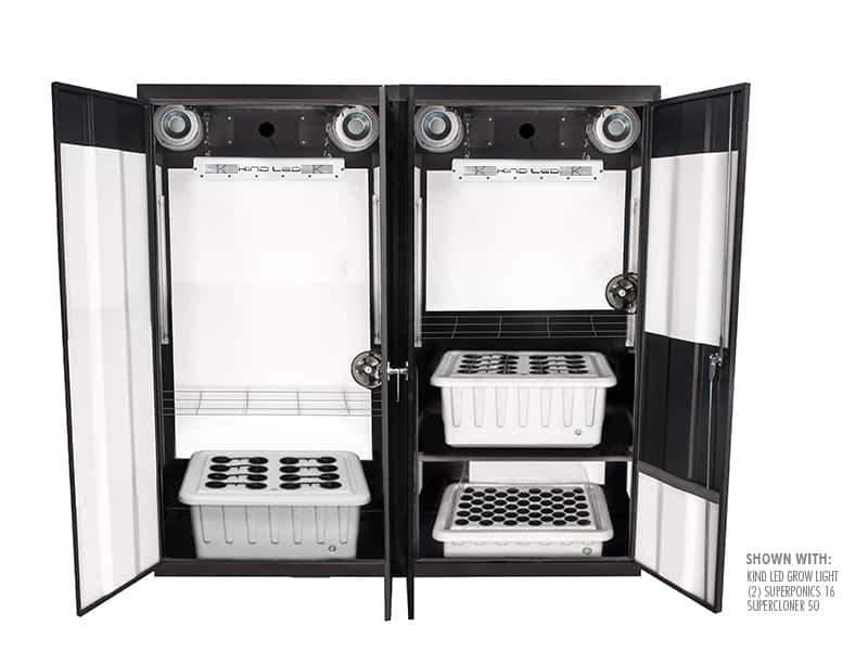 "Buy SuperCloset Trinity 3.0 72"" x 24"" x 72"" LED Grow Cabinet - In Stock - Low Price Guarantee - Blooming Flora"