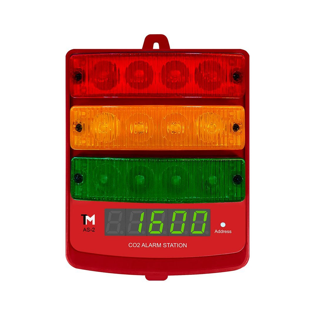 Buy TrolMaster AS-2 CO2 Alarm Station 2 - In Stock - Low Price Guarantee - Blooming Flora