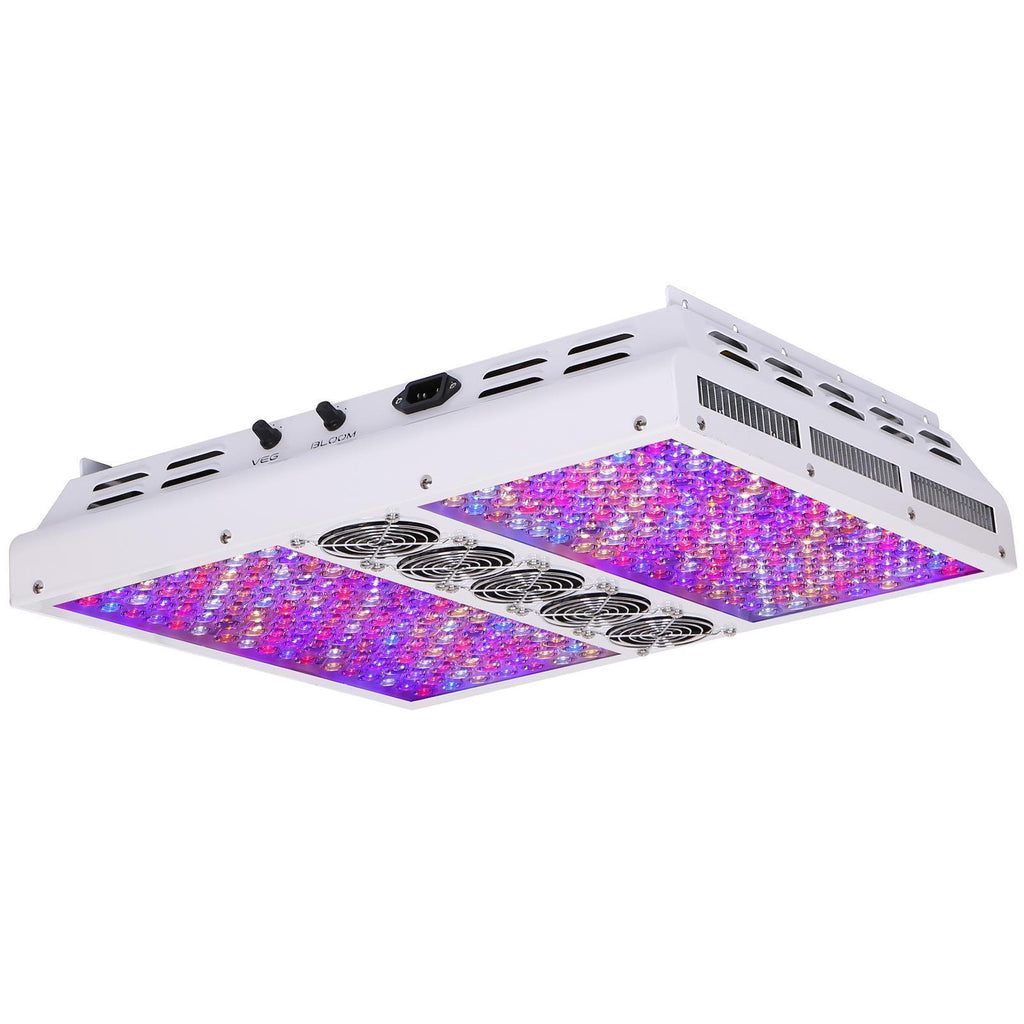 Buy Viparspectra PAR Series PAR1200 Dimmable LED Grow Light - In Stock - Low Price Guarantee - Blooming Flora