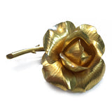Tiffany and Company Vintage 18k Gold Rose Brooch/Pin