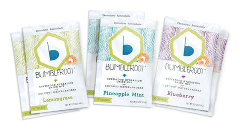 Bumbleroot Superfood Hydration Drink Mixes Sample Pack