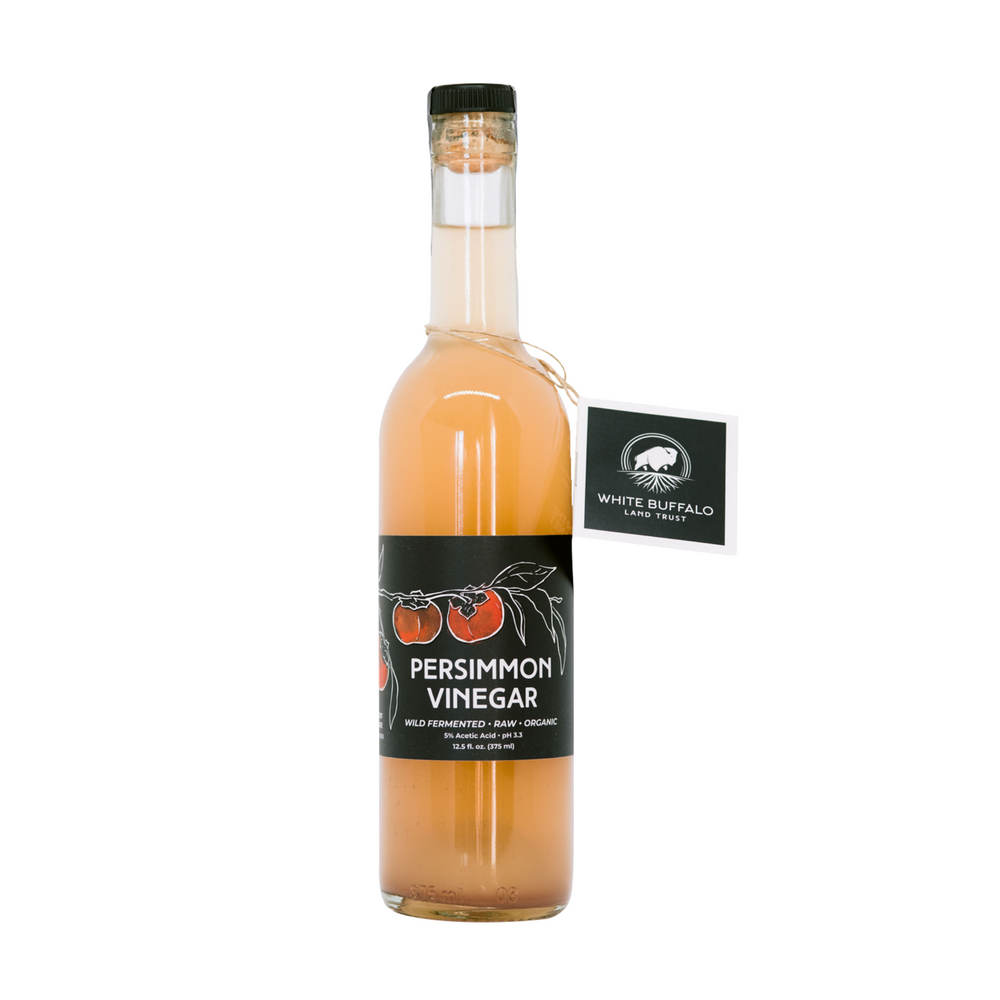White Buffalo Trust Persimmon Vinegar