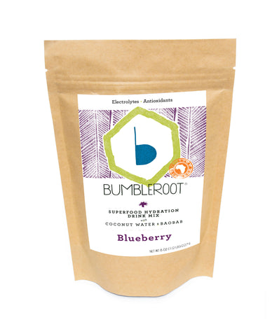Blueberry Superfood Hydration Drink Mix - 1/2 lb Pouch