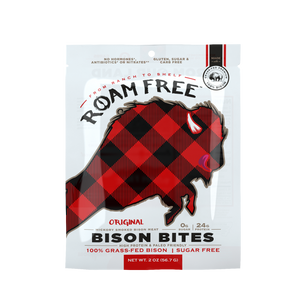Load image into Gallery viewer, Roam Free Bison Bites: Original (2-pack)
