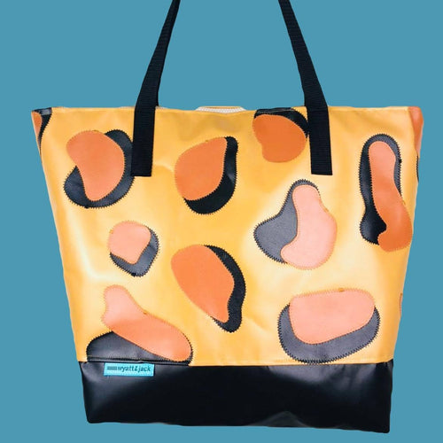 Animal Print XL Tote
