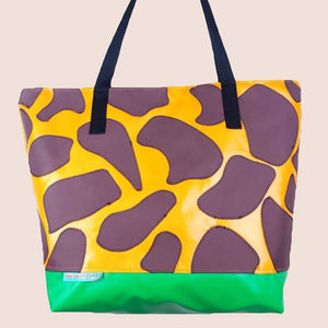 Animal & Camo Print XL Tote