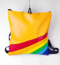 Load image into Gallery viewer, Retro Rainbow Daypack / Bouncy Castle