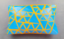 Load image into Gallery viewer, Home&Spaces Rectangular Outdoor Cushion Cover / Triangle