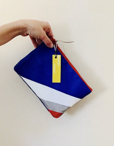 The Oversize Clutch & Retro Zip Pouch - wyattandjack®
