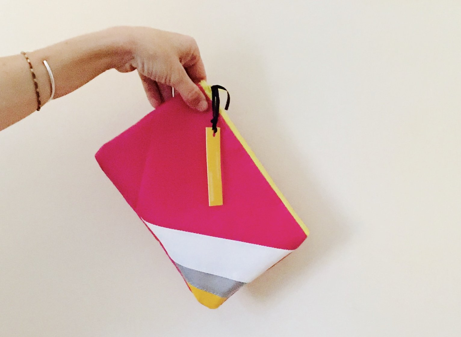 The Oversize Clutch & Retro Zip Pouch
