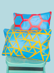 Home&Spaces Rectangular Outdoor Cushion Cover / Triangle