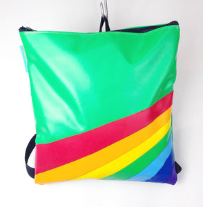 Retro Rainbow Daypack / Bouncy Castle